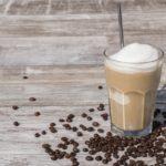 Kawa mrożona z lawy rozpuszczalnej